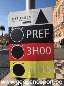 Retrait Dossard du marathon des Alpes-Maritimes