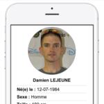 Pendentif d'identification Vital eCode