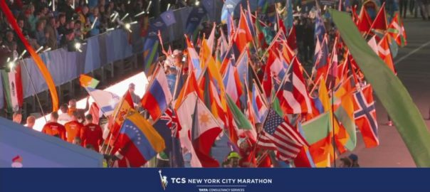 Parade Des Nations du marathon de New-York