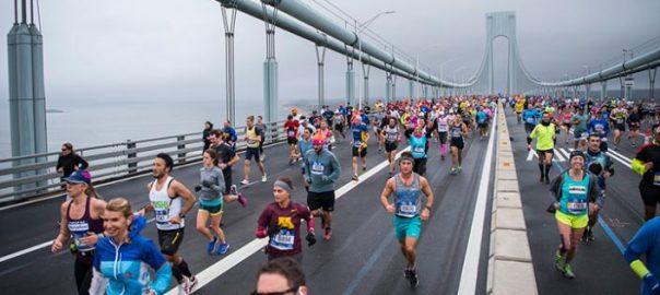 Départ du marathon de New-York 2018