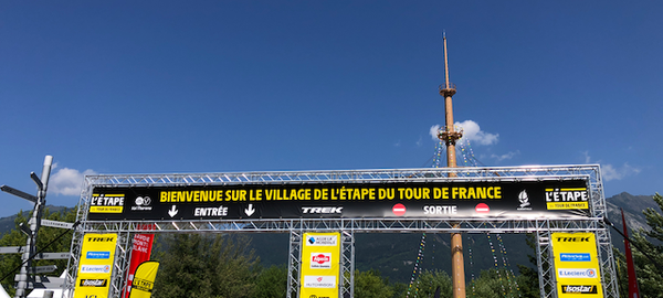 Village de l'Etape Du Tour 2019