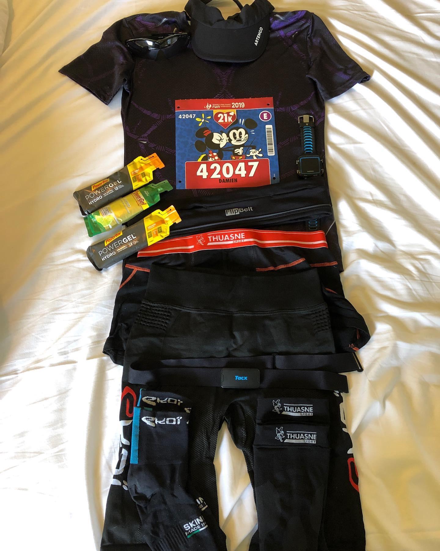 Semi-marathon 2019 de Run Disney
