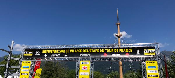 Village de l'Etape Du Tour 2019