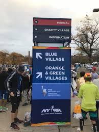 Bagage et transport au marathon de New-York
