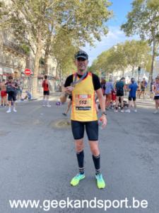 Semi marathon de Paris 2021